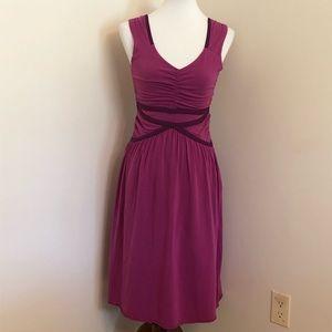 Athleta | Magenta Sleeveless Dress - Small TALL